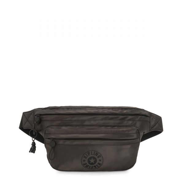 YASEMINA XL Cold Black CROSSBODY by Kipling Front