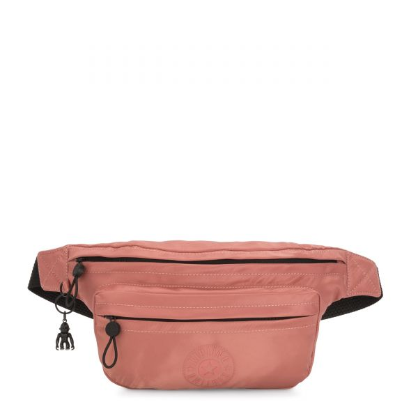 YASEMINA XL Satin Rust CROSSBODY by Kipling Front