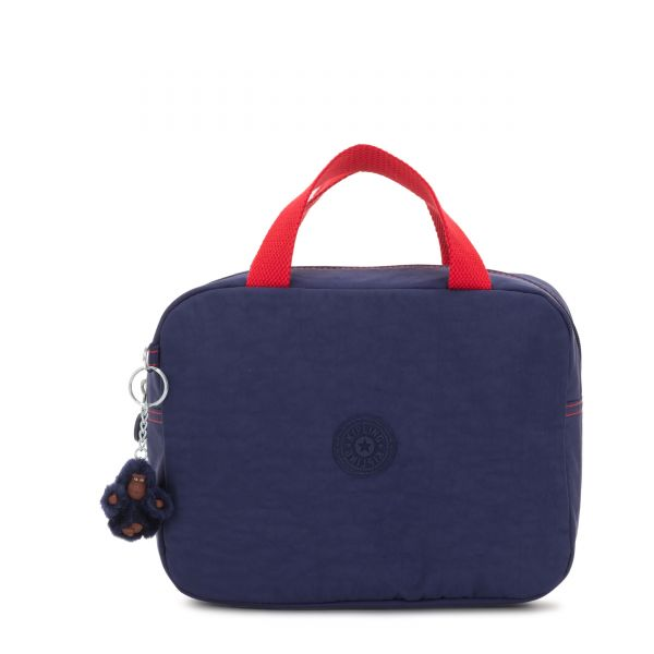 LOUNAS Polished Blue C POUCHES/CASES by Kipling Front