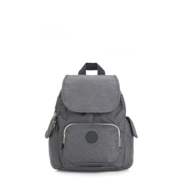 CITY PACK MINI Charcoal BACKPACKS by Kipling Front