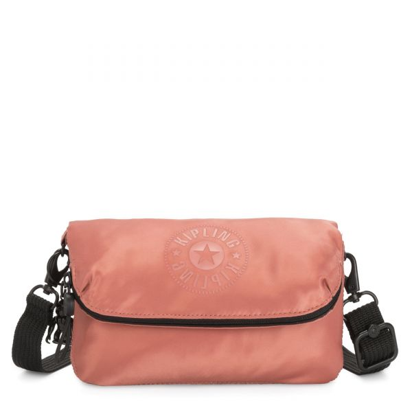 IBRI Satin Rust POUCHES/CASES by Kipling Front