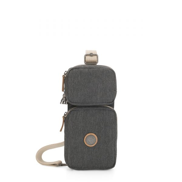 OVANDO Casual Grey CROSSBODY by Kipling Front