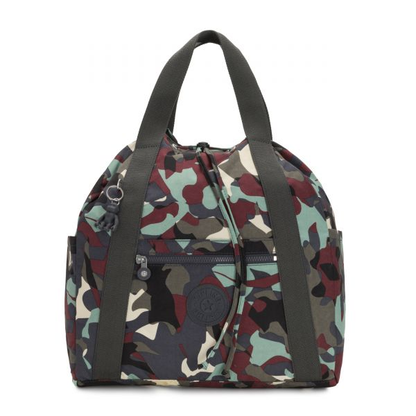 ART BACKPACK M Camo Large BACKPACKS by Kipling Front