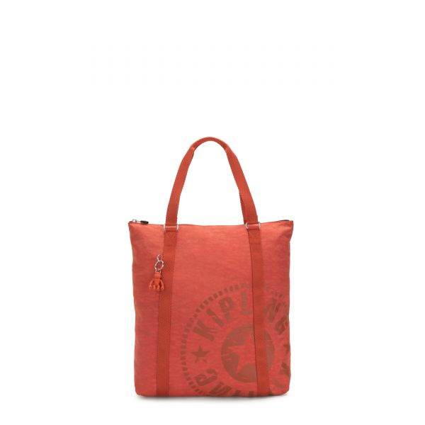MORAL Hearty Orange TOTE by Kipling Front