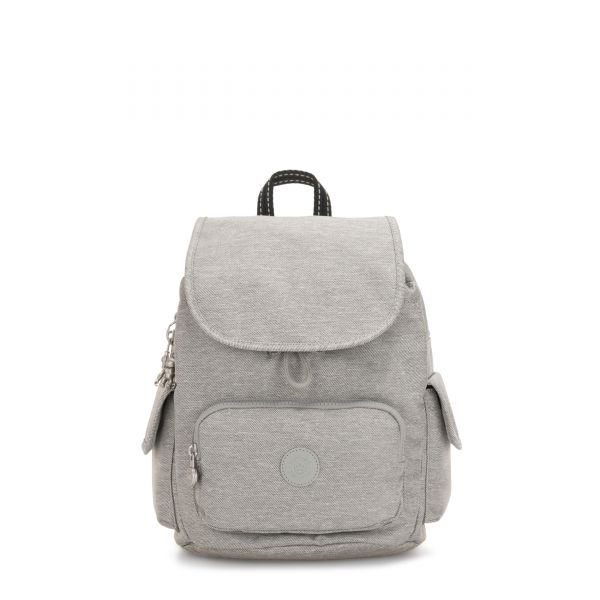 CITY PACK S Chalk Grey BACKPACKS by Kipling Front