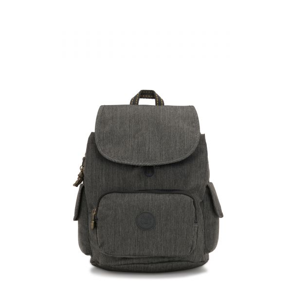 CITY PACK S Black Indigo BACKPACKS by Kipling Front