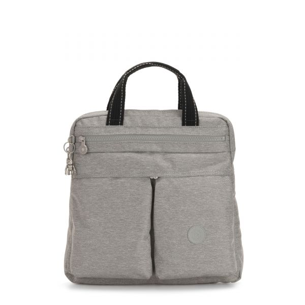 KOMORI S Chalk Grey BACKPACKS by Kipling Front