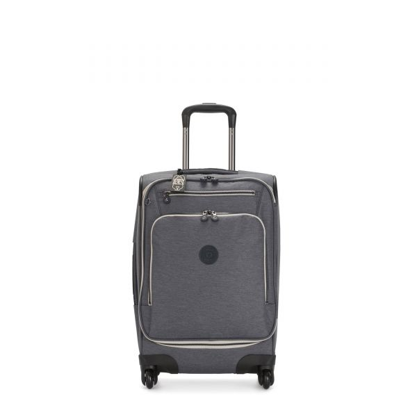 YOURI SPIN 55 Charcoal CARRY ON by Kipling Front