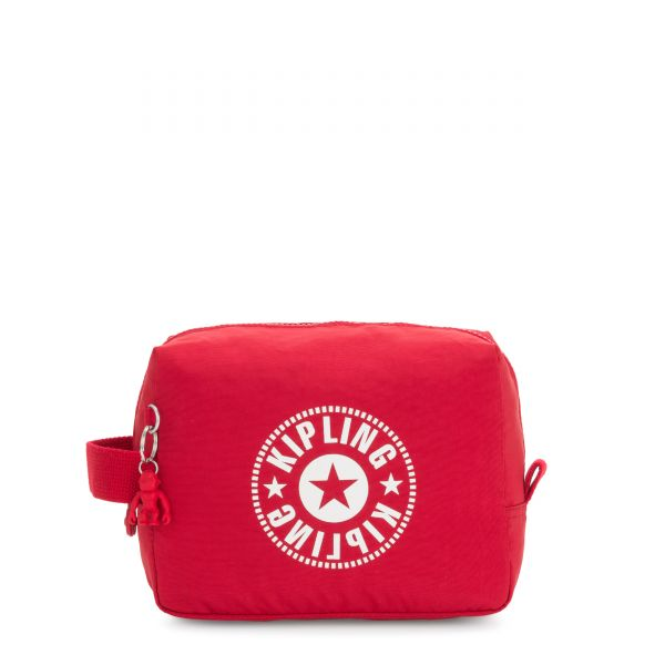 PARAC Lively Red TRAVEL ACCESSORIES by Kipling Front