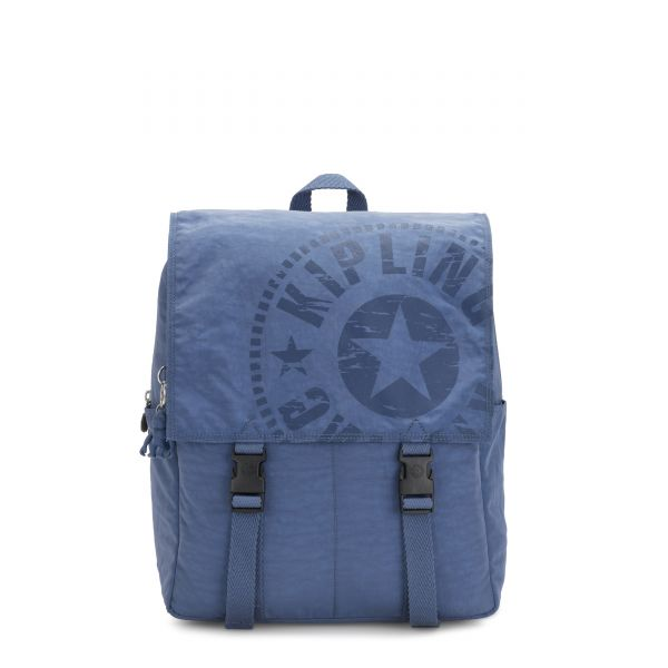 LEONIE Soulfull Blue BACKPACKS by Kipling Front