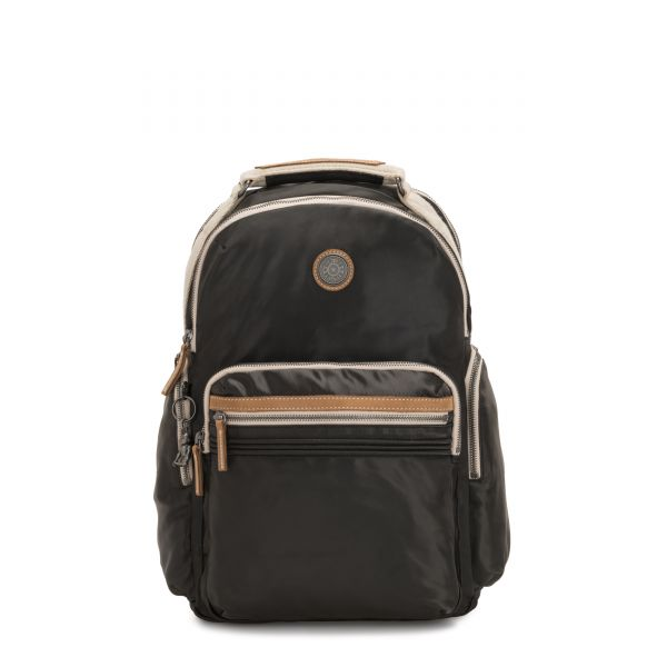 OSHO Delicate Black BACKPACKS by Kipling Front