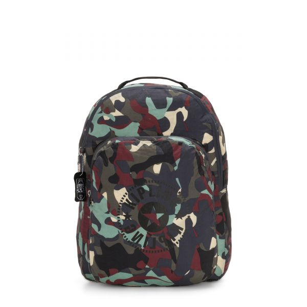 SEOUL PACKABLE Camo Large Light BACKPACKS by Kipling Front