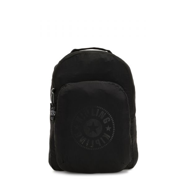 SEOUL PACKABLE Black Light BACKPACKS by Kipling Front