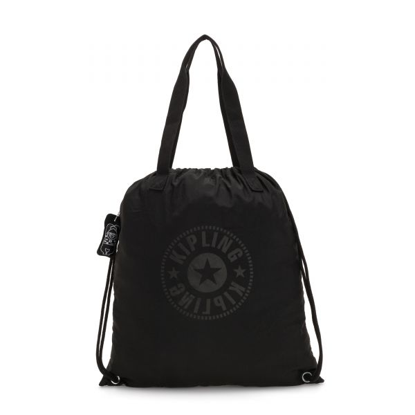 HIPHURRAY PACKABLE Black Light TOTE by Kipling Front