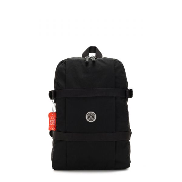 TAMIKO Brave Black BACKPACKS by Kipling Front