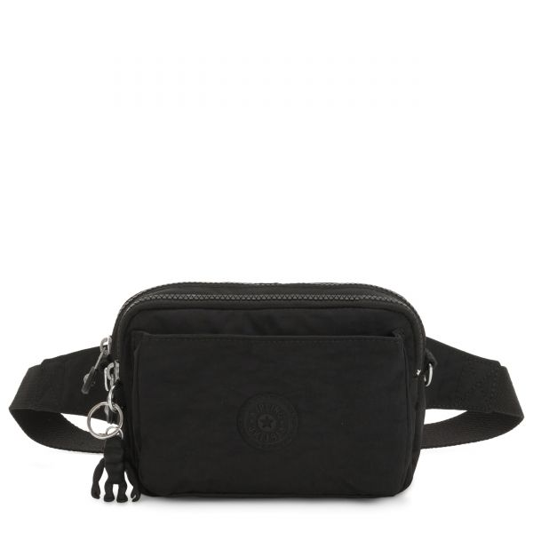 ABANU MULTI Black Noir CROSSBODY by Kipling Front