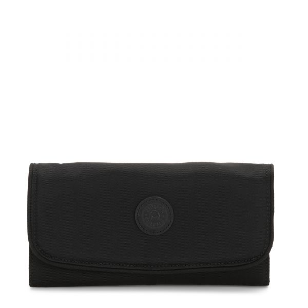 MONEY LAND Rich Black WALLETS by Kipling Front