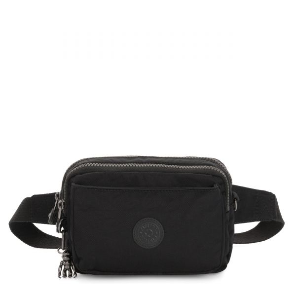 ABANU MULTI Rich Black CROSSBODY by Kipling Front