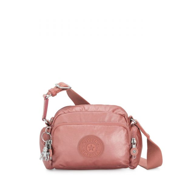 JENERA MINI Metallic Rust Origin CROSSBODY by Kipling Front