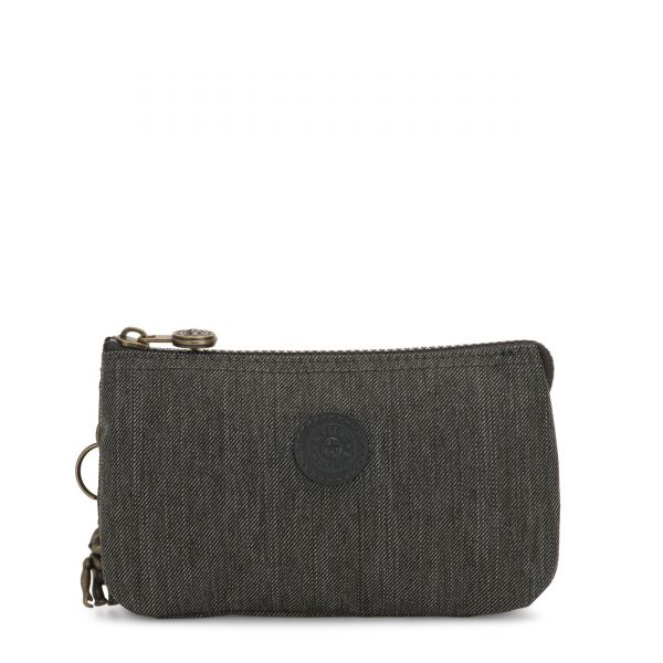CREATIVITY L Black Indigo POUCHES/CASES by Kipling Front