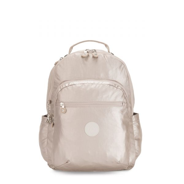 SEOUL Metallic Glow BACKPACKS by Kipling Front