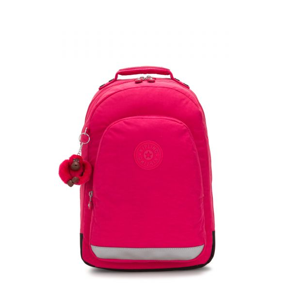 CLASS ROOM True Pink BACKPACKS by Kipling Front