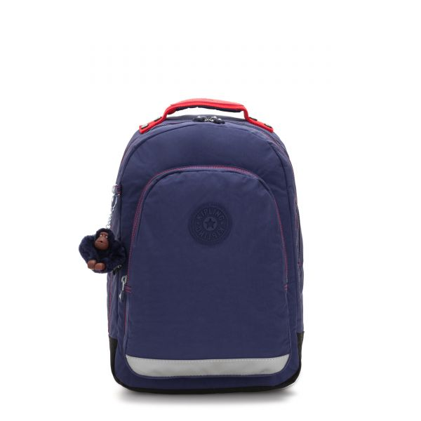 CLASS ROOM Polished Blue C BACKPACKS by Kipling Front