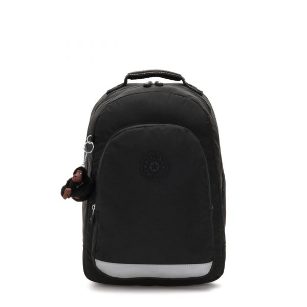 CLASS ROOM True Black BACKPACKS by Kipling Front