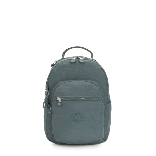 SEOUL S Light Aloe BACKPACKS by Kipling Front