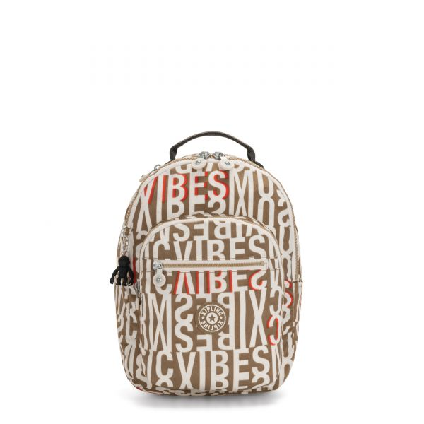 SEOUL S Studio Print BACKPACKS by Kipling Front