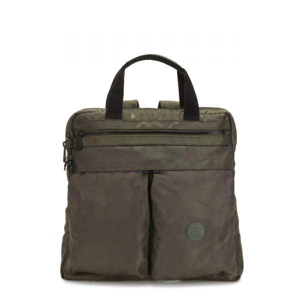 KOMORI S Satin Camo BACKPACKS by Kipling Front