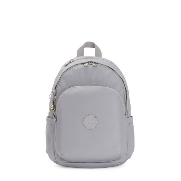DELIA Natural Grey BACKPACKS by Kipling Front