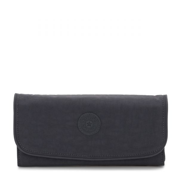 MONEY LAND Night Grey WALLETS by Kipling Front