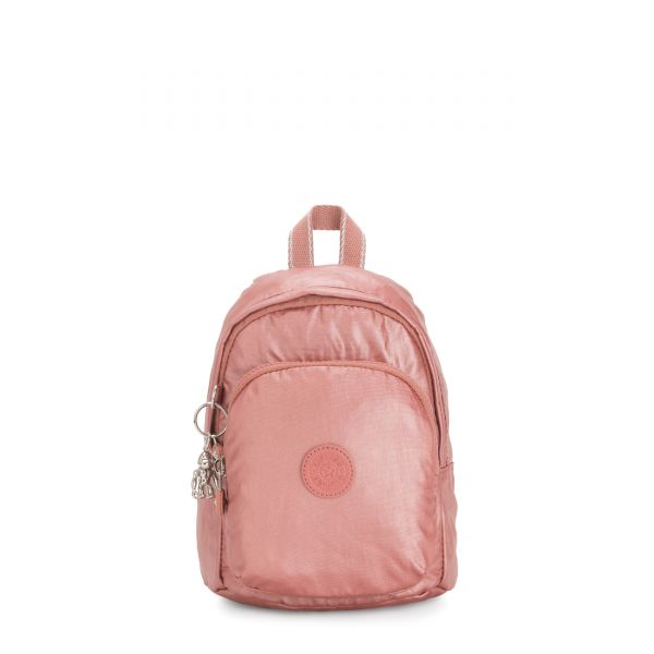 DELIA COMPACT Metallic Rust BACKPACKS by Kipling Front