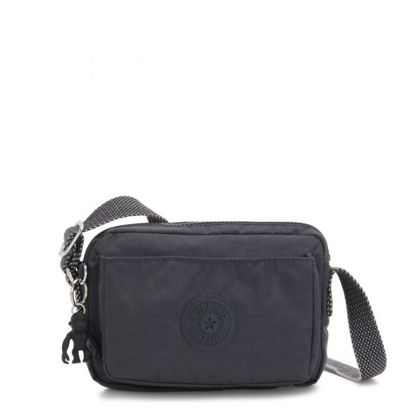 ABANU Night Grey CROSSBODY by Kipling Front
