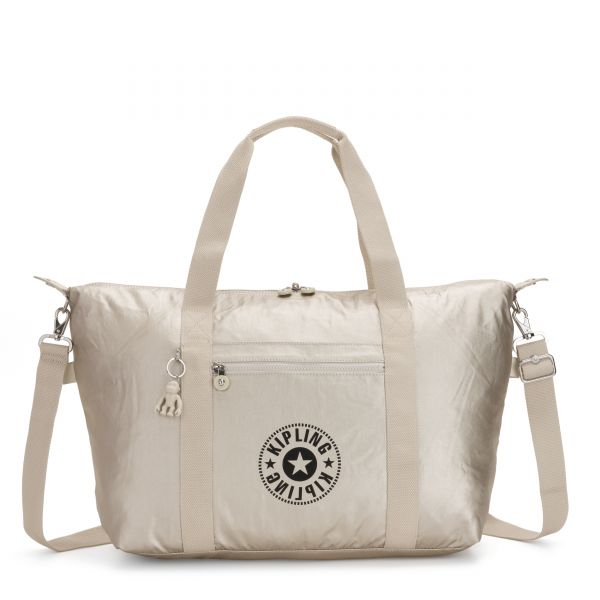 ART M Cloud Metal Combo TOTE by Kipling Front