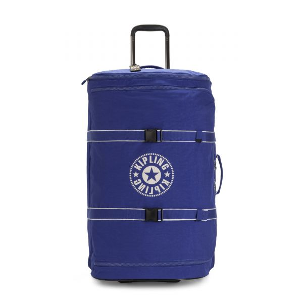 DISTANCE L Laser Blue UPRIGHT by Kipling Front