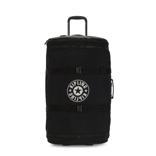 DISTANCE L Lively Black UPRIGHT by Kipling Front