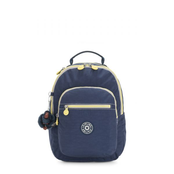 SEOUL S Blue Thunder BACKPACKS by Kipling Front