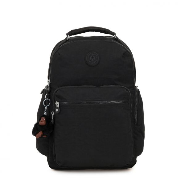 OSHO True Black BACKPACKS by Kipling Front