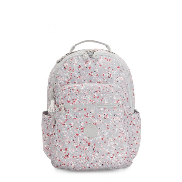 SEOUL Speckled BACKPACKS by Kipling Front