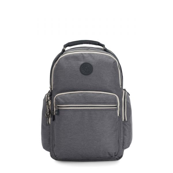 OSHO Charcoal BACKPACKS by Kipling Front