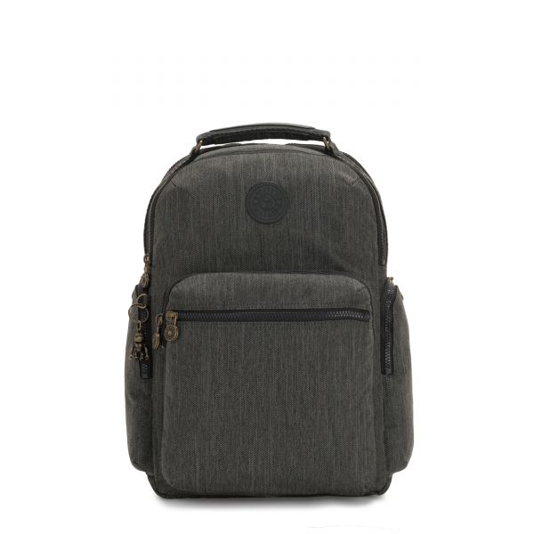 OSHO Black Indigo BACKPACKS by Kipling Front