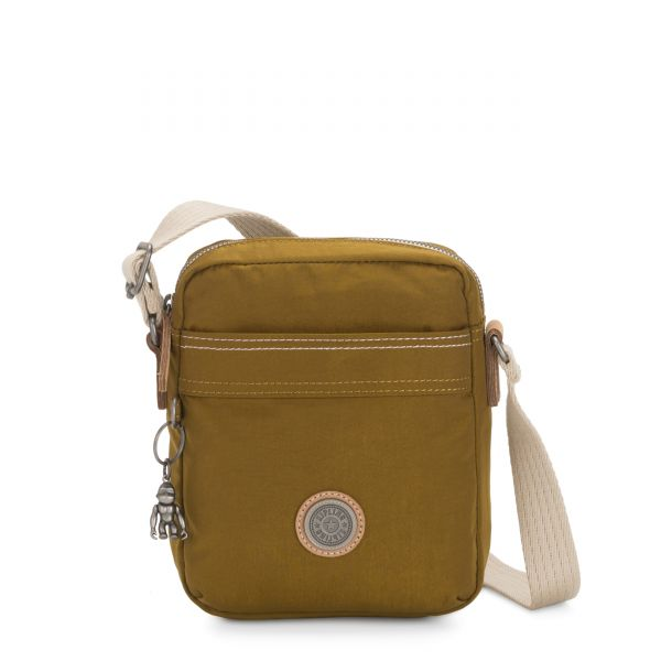 HISA Mustard Green CROSSBODY by Kipling Front