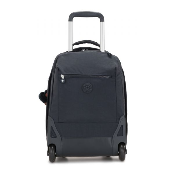 SOOBIN LIGHT True Navy WHEELED BACKPACKS by Kipling Front