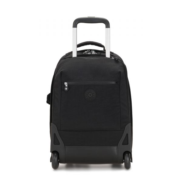 SOOBIN LIGHT True Black WHEELED BACKPACKS by Kipling Front