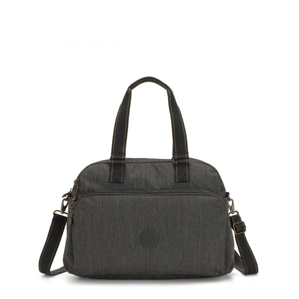 JULY BAG Black Indigo WEEKENDER by Kipling Front