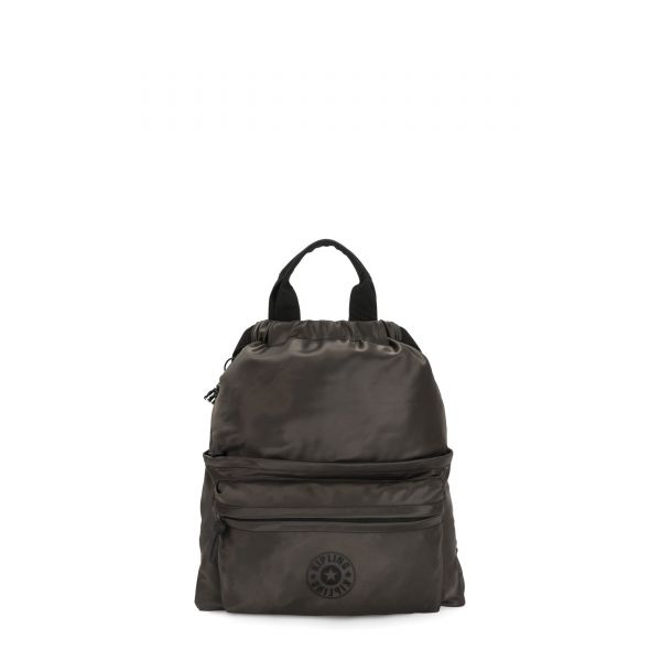 GRETI Cold Black BACKPACKS by Kipling Front