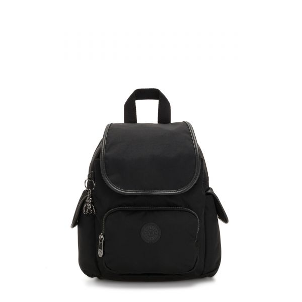 CITY PACK MINI Rich Black BACKPACKS by Kipling Front