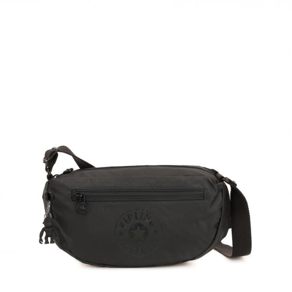 SENRA Raw Black CROSSBODY by Kipling Front